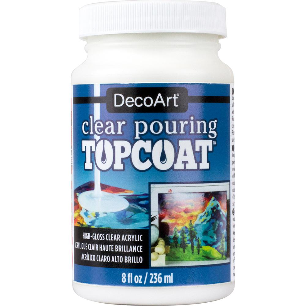 Pouring Topcoat Ds134 8 Oz.