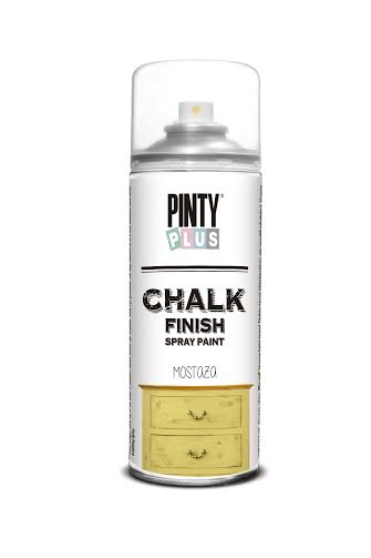Chalk Spray Mostaza